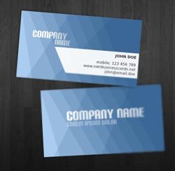 Thiết kế in ấn danh thiếp công ty